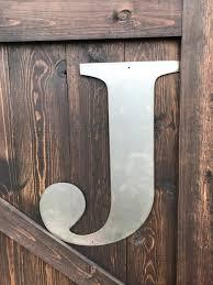 24 metal letters u0026 numbers large monograms rustic letters