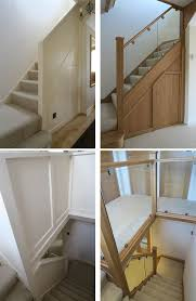 Replace Stair Banister Before And After Glass And Wood Staircase Renovations Medlock
