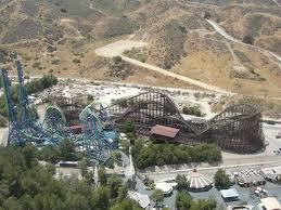 Six Flags Va Magic Mountain Deja Vu Mapio Net