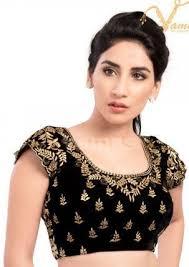 open blouse vamas black velvet back open blouse makhmal ka blouse vamas