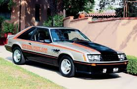 1979 ford mustang pace car 1979 ford mustang mustang sets the pace