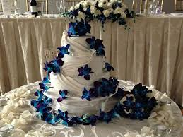 wedding cake with white orchids the world s catalog of ideas