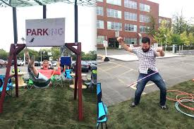 ing ierie bureau d udes bnmc employees play it up on park ing day buffalo rising
