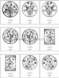 cast steel wrought iron ornament china fumesh ornament and