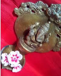 antique brass ls value antique brass ganesha wall diya rustic motifs bengaluru id