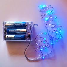 Battery Operated Fairy Lights by Blue Fairy Lights U2013 Qualizzi Starry And String Lights