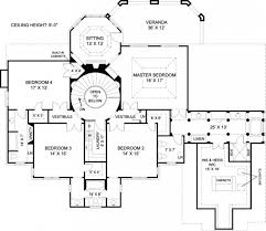 outstanding mansion house floor plans blueprints 6 bedroom 2 story
