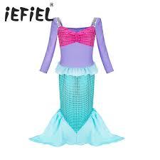 Princess Ariel Halloween Costume Buy Wholesale Princess Ariel Dress China Princess