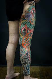 100 dragon leg tattoo leg tattoo art and designs page 114