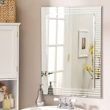 bathroom cabinets framed wall mirrors black bathroom mirror