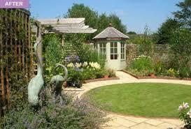 Summer House For Small Garden - rebecca webb garden designs
