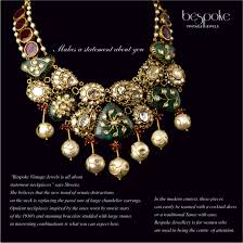 bespoke gold jewellery shweta and nitesh gupta bespoke vintage collection search
