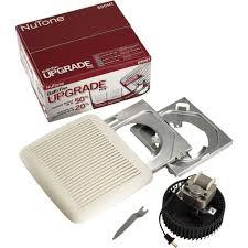 broan nutone 690nt 60 cfm 3 0 sones fan economy upgrade kit