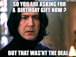 Birthday Meme Funny - 15 harry potter funny birthday meme happy wishes