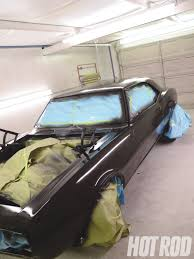 1967 chevy camaro affordably flat paiting rod network