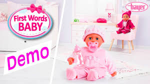 bayer design puppe words baby doll puppe demo bayer design