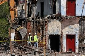 funeral homes in cleveland ohio human remains again are found at vacant cleveland funeral home