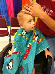 toddler u0027s 1st haircut jhp u0027s family blog