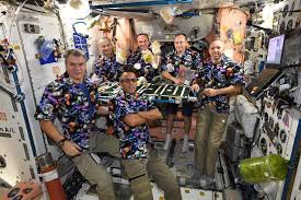 thanksgiving on the iss with expedition 53 nasa hunch