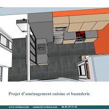 aménagement optimisation d une cuisine pour intégrer une buanderie