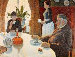 The Dining Rooms by Webmuseum Signac Paul The Dining Room