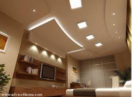 false ceiling design and TV wall design with shelves in living
