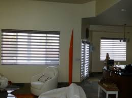 before and after 2 faux wood to hunter douglas pirouette