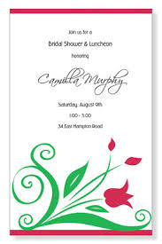 lunch invitation cards tulips for tara invitations myexpression 11960