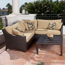 Ashley Furniture Patio Sets - sofas center corner tables at targetfa sectional with wedge