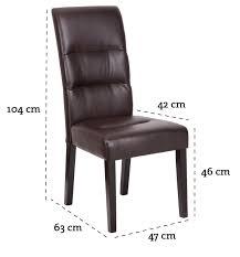 Esszimmerstuhl Ebay 2x Esszimmerstühle Stuhl Lise Pu Kunstleder Braun Neu Ebay