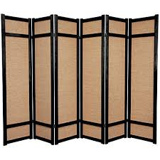 Privacy Screen Room Divider Ikea Furniture 6 Ft Jute Shoji Screen 6