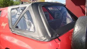 isuzu amigo acme c730 a isuzu amigo convertible soft top w plastic windows