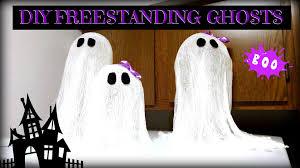 diy halloween ghost decoration youtube