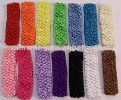 stretchy headbands stretchy crochet headband pattern crochet and knit