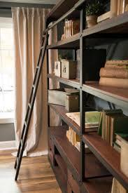 Ladder Shelving Unit 97 Best Bookshelves With Library Ladder Images On Pinterest