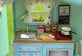 amazon com cuteroom diy wooden dollhouse miniature kit doll house