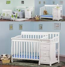 Mini Crib With Attached Changing Table Changing Tables Mini Crib With Changing Table Attached Baby
