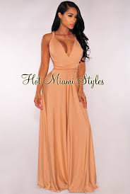 miami hot styles multi wear maxi dress