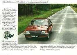 opel rekord station wagon 1982 opel rekord brochure