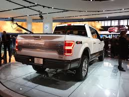 ford shows off 2018 f 150 at naias medium duty work truck info