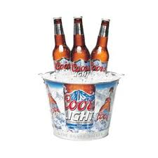 coors light gift ideas amazon com coors light beer ice bucket everything else