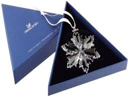 swarovski annual snowflake ornament