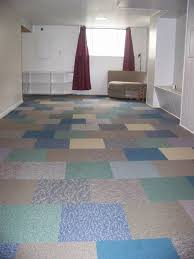 Quality First Basement by Checkerboard A Colorful Inexpensive Flooring Solution Very