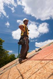 Hips Roof Hispanic Carpenter Hands On Hips On Roof Stock Photo Image 41003698
