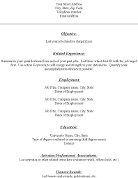 free fill in the blank resume templates resume template and