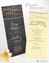 sle wedding programs outline wedding program wording magnetstreet weddings
