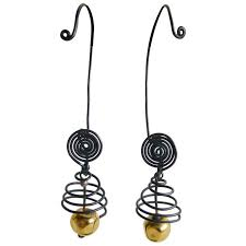 vire earrings margret craver withers caged wire earrings for sale at 1stdibs