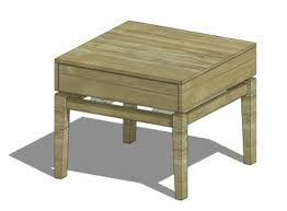 Wood End Table Plans Free by Free Nightstand Plans For Your Bedroom