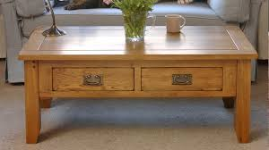 Coffee Table With Drawers by Oakland Coffee Table With Drawers The Cotswold Company Youtube