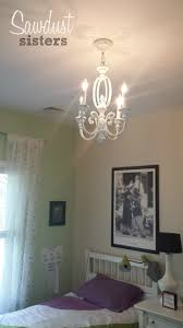 Chandelier Makeover Thrift Store Chandelier Makeover Sawdust Sisters